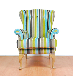 Bespoke Made Wing Chair